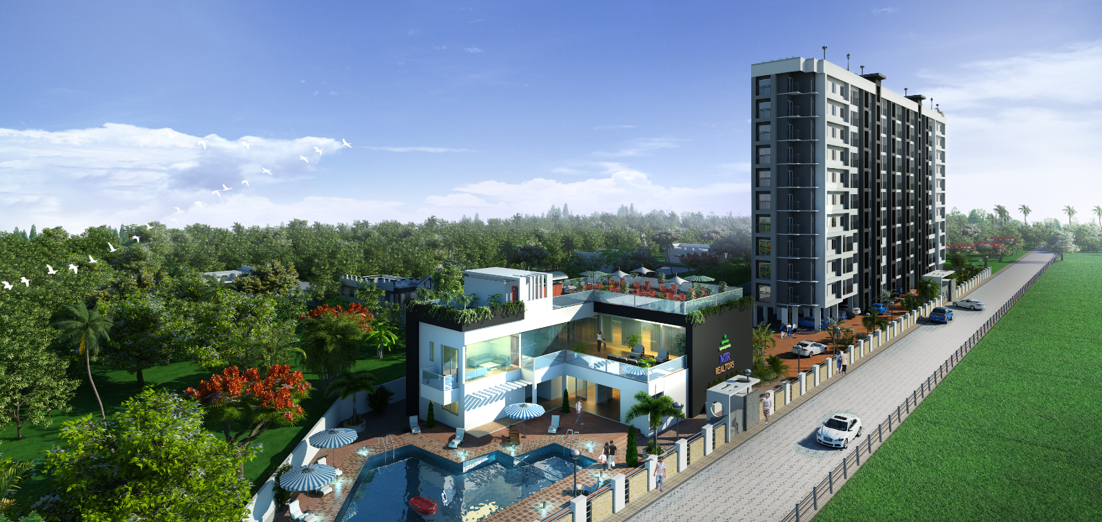 Cintra Luxury Apartments in Angamaly