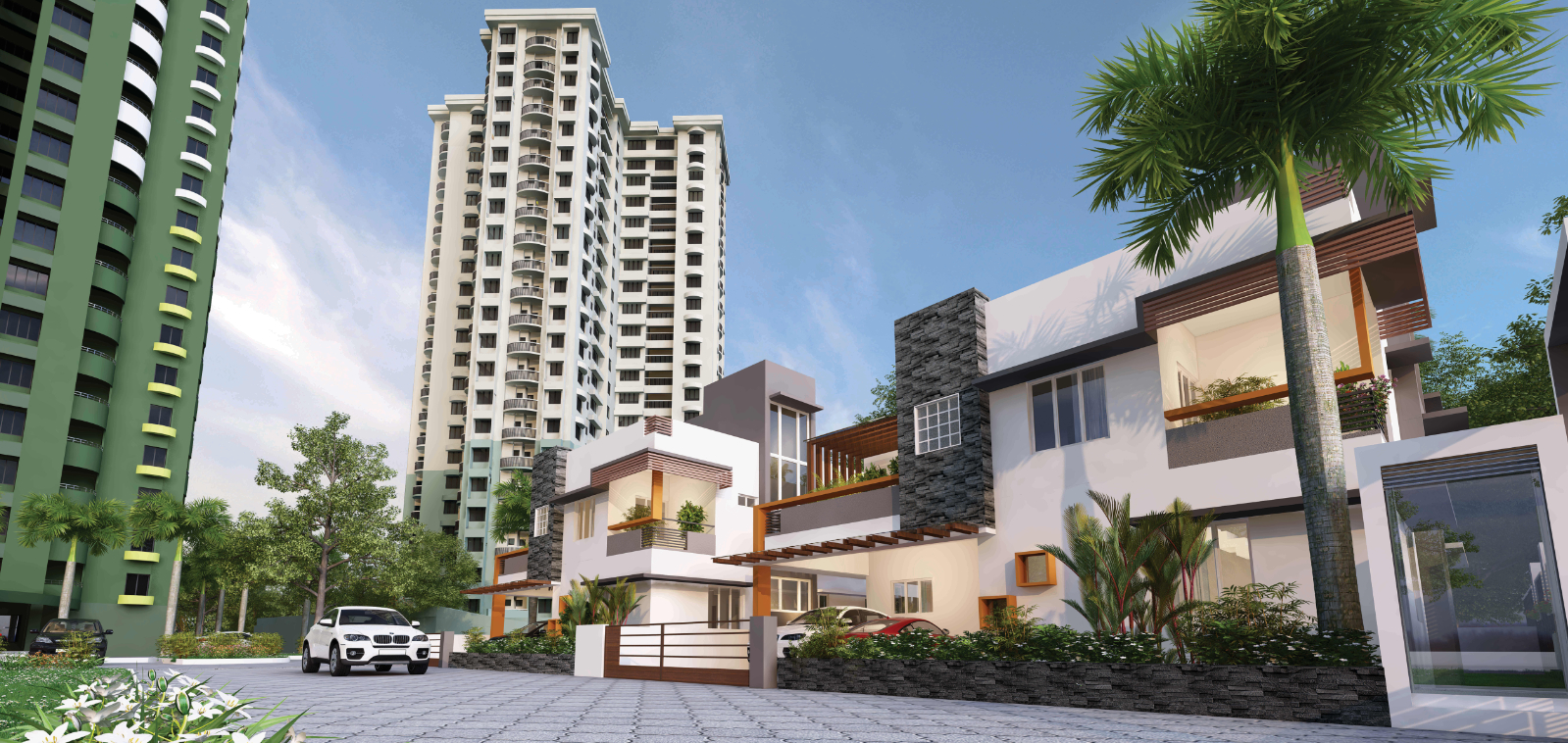 Emerald Park - Luxury Flats In Cochin