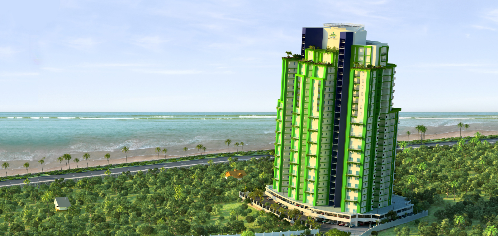 Pearl Castle - Luxury Apartments In Kannur