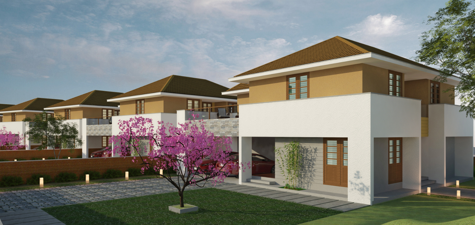 Pebble Garden - Luxury Villas In Kannur