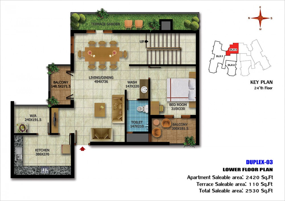 floorplan-Duplex-03Lower24thfloor