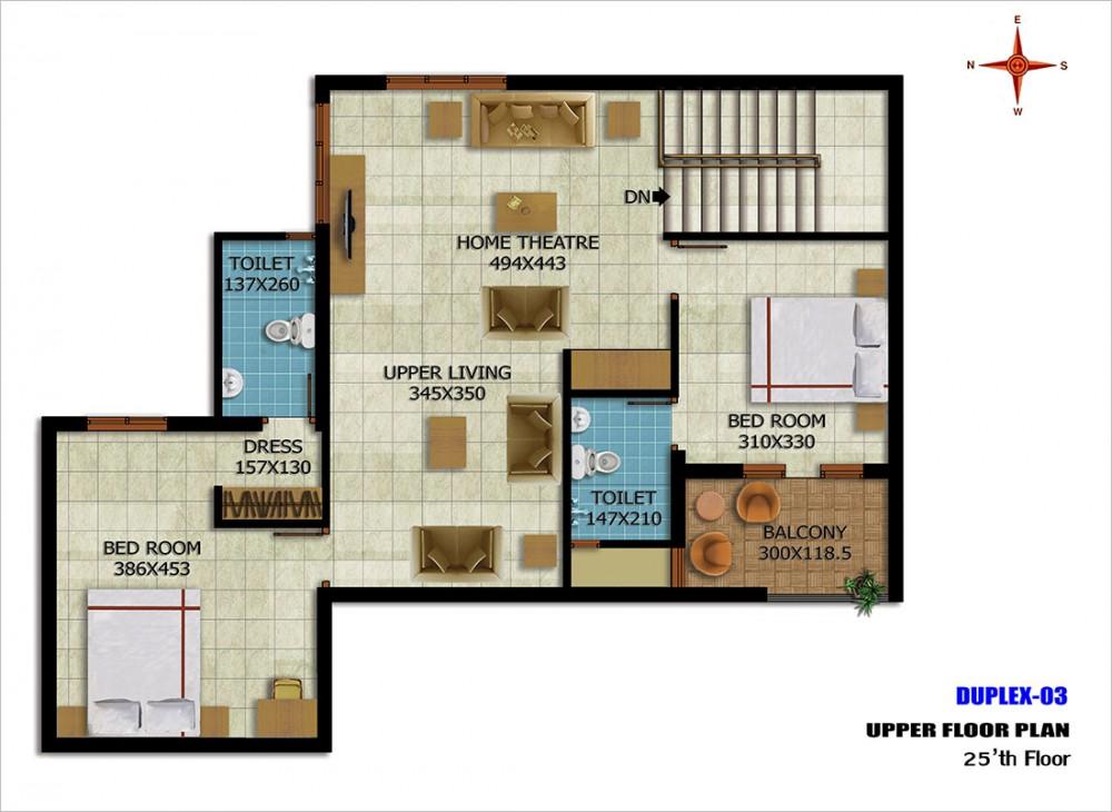Duplex-03Upper25thfloor