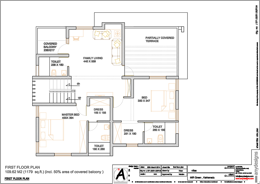 first floor plan-villa-2